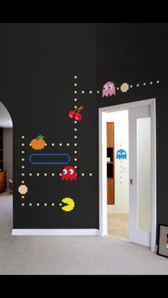 Pac Man wall stickers ❤️