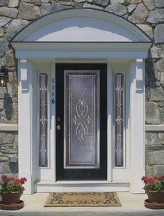 Decorative Glass with Sidelites - Front Door Ideas - Bob Vila