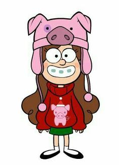 mabel con gorrito de chanchito Mabel Pines Sweaters, Dipper E Mabel, Adventure Time Wallpaper, Desenhos Gravity Falls, Reverse Falls, Doodle Inspiration, Cute Cartoon Wallpapers, Disney Wallpaper, Illustrations