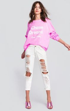 Wildfox Couture Love The Chase Sommers Sweater