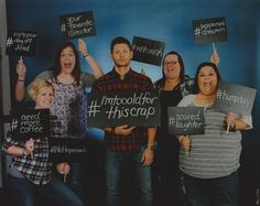 This was our op that Jensen loved & asked 'wait are these all mine? when did I say pepperoni dreamin?!' #dallascon