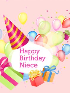 70 best birthday cards for niece images on pinterest in 2018 send free charm delight happy birthday card for niece to loved ones on birthday greeting cards by davia its free and you also can use your own m4hsunfo