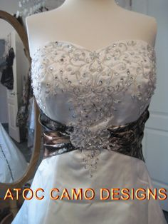 'Hailey' Wedding Dress | $725.00 #camo