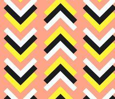 pink boomerang fabric
