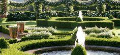 Picque-nique au Jardin Blanc du Manoir d'Erignac en Dordogne