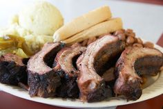 Off The Bone Barbeque   Best Barbecue in Dallas
