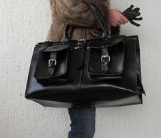 LARGE TRAVEL BAG by BlueDrop-I WANT THIS!!!!      Pin It    $290.00