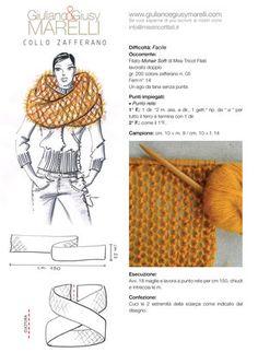 Facilissimo Knit 'n Crochet Diy Tricot Crochet, Love Crochet, Crochet Hats, Crochet Scarves, Knit Cowl, Knitted Shawls, Loom Knitting, Knitting Stitches, Knitting Patterns