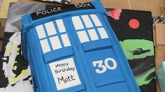 Matt Smith's 30th Birthday Cake