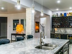 Marble Kitchen Countertops Super White Dallas Tx Granite Republic … - Home creative ideas White Marble Kitchen, Granite Kitchen, Kitchen Countertops, Kitchen Island, White Quartzite Countertops, Free Kitchen Design, Dallas, Kitchen Installation, Kitchen Images