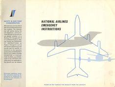 Douglas Dc 8, Cabin Doors, Vintage Travel, Vintage Airline, National Airlines, Boeing 727, Safety, United States, The Unit