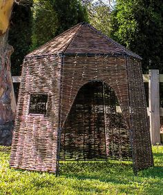This Willow Hut Playhouse is perfect! #zulilyfinds