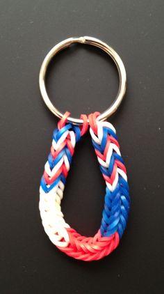 Rainbow loom bracelets and keychains ...