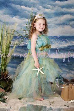 The little Mermaid Photography Prop costume by enchantedfairyware, $175.00