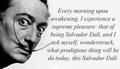 """""""Every morning up awakening..."""" Salvador Dali [659X377] - Imgur"""