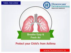 Asthma is a chronic condition involving the bronchial tubes in the lungs. These bronchial tubes allow air to come in and out of the lungs. The irritation makes the airways swollen and very sensitive. Homeopathy provides remedies for asthma severity at Homeocare International.