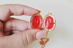 Lip Balm Locket | 33 DIY Gifts You Can Make In Less Than An Hour