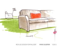 New custom design ideas for CDG from palliser and rick lee.  Can't wait to see this project from idea to actual forma sofa.  Keep an eye out.  Looking great, great design, great designer, great manufacturer