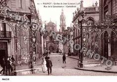 Ville de NANCY, carte postale ancienne