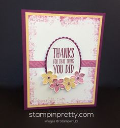 ORDER STAMPIN' UP! ON-LINE. Up to 40% off on select products thru Nov. 30! Sneak peek of All Things Thanks stamp set - available Jan. 4.