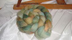 handdyed spinning fibers