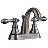 Found it at Wayfair - Americana Double Handle Centerset Bathroom Faucet with ABS Pop-Up Drain