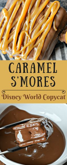 Have you ever tried Caramel S'mores at Epcot in Disney World? Even if you haven't you will love this copycat version! It is easy to make and you are going to love it!