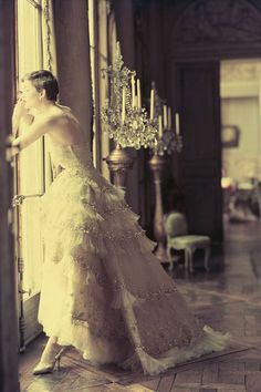 Norman Parkinson 1950, Mozart dress