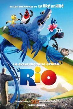 Rio Movie Poster ( of 2011 Movies, All Movies, Disney Movies, Disney Characters, Childhood Movies, Disney Art, Disney Pixar, Rio Film, Rio Movie