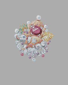 Design by @vancleefarpels #jewelry #jewellery #jewelryrendering #jewelrydesigner #jewelrydesign #vancleef #vancleefarpels  #showmeyourrings #diamonds #elephant
