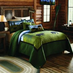 Bear River Quilt by Donna Sharp - Bedding Collection Shot