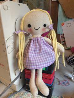 If Rapunzel from Tangled was a 10 rag doll this by MissyBallance
