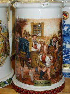 Bierkrug - beer stein.   Repinned by www.mygrowingtraditions.com