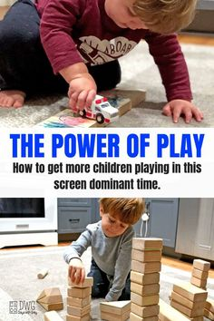 power of play with Melissa and Doug, block play, independent play ideas, kid games, toys for kids of every age Play Based Learning, Learning Through Play, Early Learning, Kids Learning, Toddler Play, Toddler Preschool, Toddler Activities, Motor Activities, Indoor Activities