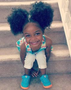 17 Little Girls With The Cutest Pigtails Ever [Gallery]  Read the article here - http://www.blackhairinformation.com/general-articles/playlists/17-little-girls-with-the-cutest-pigtails-ever-gallery/