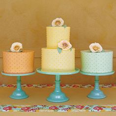 Uniquely Southern Wedding Cakes | A Trio of Tropical Wedding Cakes | SouthernLiving.com