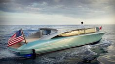 This May Be the World's Most Beautiful Superyacht Tender   Boating & Yachting