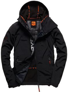 ad571ab04e Superdry Black Traverse Jacket