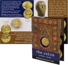 Trinovantes Gold Stater - Celtic Replica Coin Pack