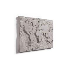 Lyon Béton - Singleton - THE GRAY PLANET (70x50cm) (D-09950) Urban Art, Lyon, Art World, Planets, Gray, Ash, Street Art, Grey, Repose Gray