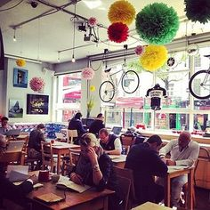 Look Mum No Hands, EC1. | 25 Unmissable Coffee Shops In London