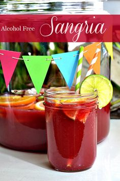 Lady Behind The Curtain - Alcohol Free Sangria