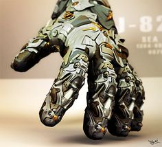 Imaginary Wearable Tech Glove