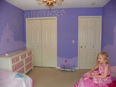 Tangled+Themed+Room | Rapunzel Room