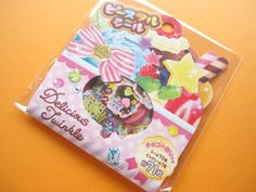 ♥B-day gift from Greivin♥ Kawaii Cute Sticker Flakes Sack Delicious Twinkle Mind Wave (74615)