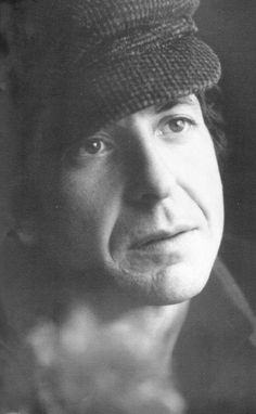 "cohenyearsphotos: "" Photo shared by Christine R. on the Facebook group Leonard Cohen. Year and photographer unknown. """