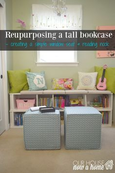 reading nook title with words