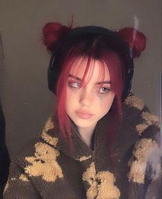Androgynous People, Cute Hair Colors, Dying My Hair, Aesthetic Hair, Tumblr Girls, Girl Face, Pretty Hairstyles, Hair Inspo, Hair Goals