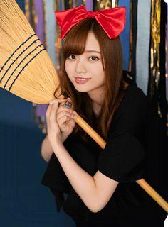 Oriental, Hand Fan, Lady, Celebs, Fotografia