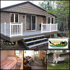 Evergreen Cottage at @Hiawatha's Vacation Homes is a cozy year-round vacation rental for six, near the quaint village of Christmas, MI. Book your late summer or fall getaway near scenic Lake Superior:  #itscabintime #bookdirect #lakesuperior #michigancottage #travelmi